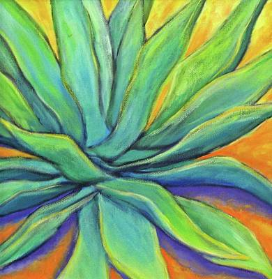 Painting - Agave Glow by Nancy Matus
