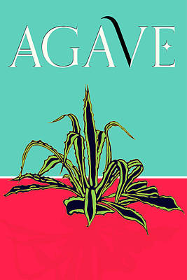 Digital Art - Agave Poster by Sandra Selle Rodriguez