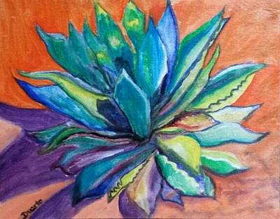 Painting - Agave State Of Mind by Carol Duarte