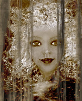 Intuitive Digital Art - Age Becomes Her V by Patricia Motley