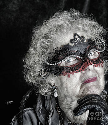 Age Is Not A Victim  Art Print by Steven Digman
