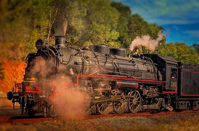 Photograph - Age Of Steam 3 by Wallaroo Images