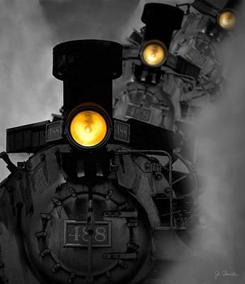 Photograph - Age Of Steam by Joe Bonita