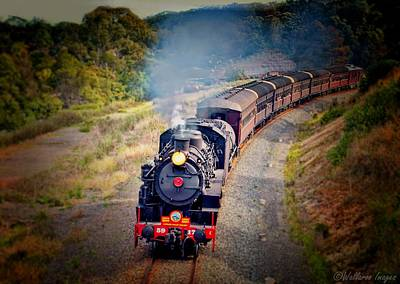Photograph - Age Of Steam by Wallaroo Images