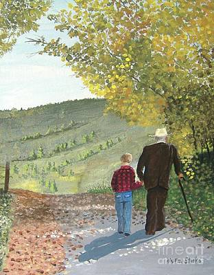 Painting - Age To Age by Norm Starks