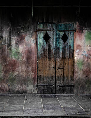 Photograph - Aged And Erie Door by Jeff Kurtz