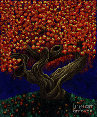 Painting - Aged Autumn by Rebecca Parker