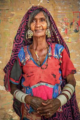 Photograph - Aged Beauty. by Usha Peddamatham