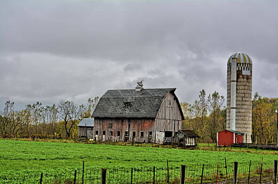 Photograph - Aged In Fayette by Bonfire Photography