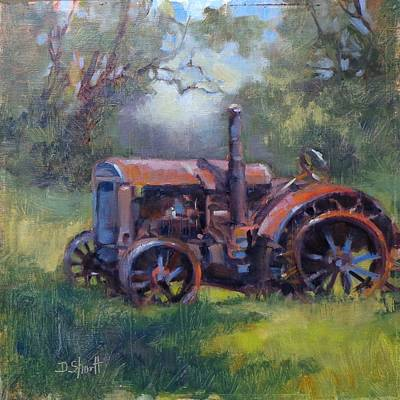 Painting - Aged To Perfection by Donna Shortt