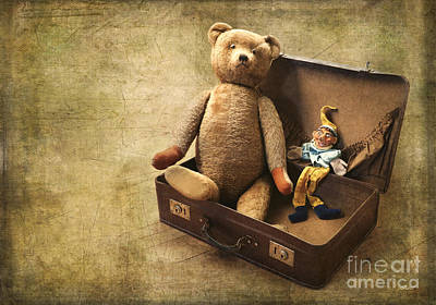 Photograph - Aged Toys by Jutta Maria Pusl
