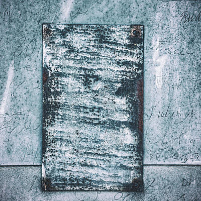 Photograph - Aged Wall Study 2 by Ari Salmela