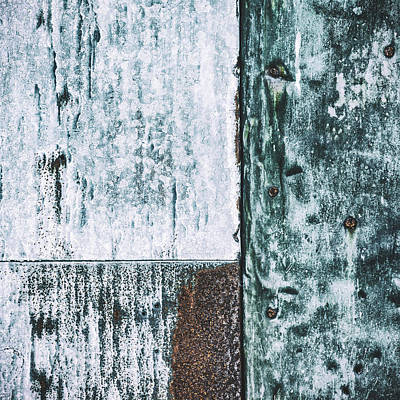 Photograph - Aged Wall Study 4 by Ari Salmela