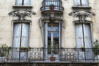 Photograph - Agen Windows by Georgia Fowler