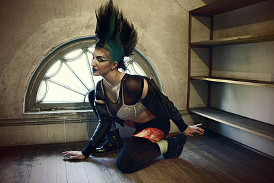 Dust Jacket Photograph - Agent Provocateur by Spokenin RED