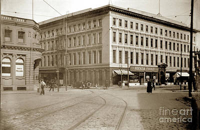 Photograph -   Agenzia Fugazi, Agts.,  Montgomery Block 630 Montgomery St., S. F. 1920 by California Views Archives Mr Pat Hathaway Archives