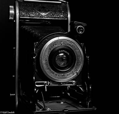 Ansco Photograph - Agfa Ansco Captain Camera by Mike Ronnebeck