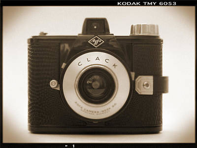 Vintage Camera Wall Art - Photograph - Agfa Clack Camera by Mike McGlothlen