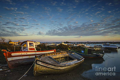 Photograph - Aging Boats On Trocadero Pipe Puerto Real Cadiz Spain by Pablo Avanzini