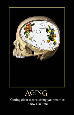 Digital Art - Aging by John Haldane