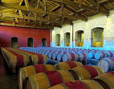 Photograph - Aging The Wine by Betty Buller Whitehead