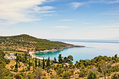 Spetses Photograph - Agioi Anargyri In Spetses Island - Greece by Constantinos Iliopoulos
