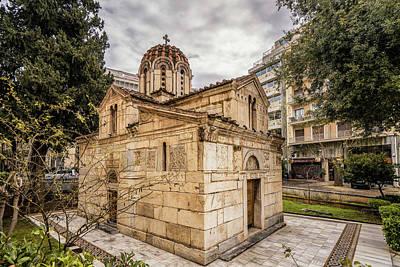 Photograph - Agios Eleftherios Church by James Billings