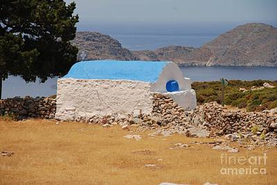 Photograph - Agios Ioannis Church On Tilos by David Fowler
