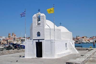 Photograph - Agios Nikolaos Church On Aegina by David Fowler