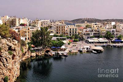 Photograph - Agios Nikolaos Crete by Teresa Zieba