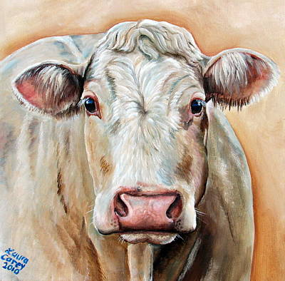 Hereford Painting - Agnas by Laura Carey