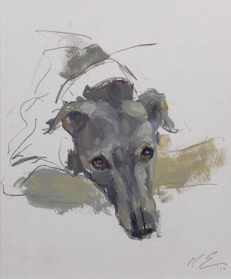 Wall Art - Painting - Agnes by Claire Eastgate