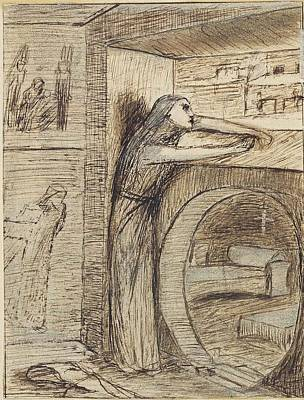Eve Painting - Agnes Eve by Elizabeth Siddal