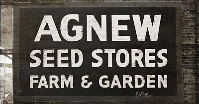 Agnew Photograph - Agnew Seeds Roanoke Virginia by Teresa Mucha