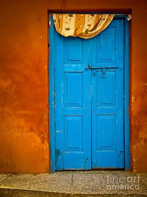 Agra Door Art Print