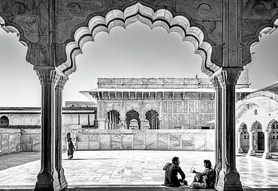 Photograph - Agra Fort by Maria Coulson