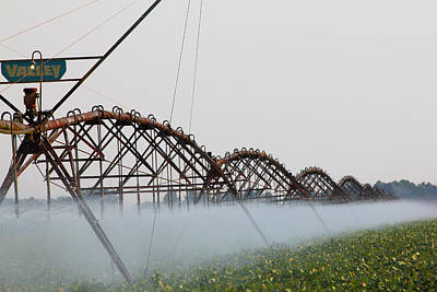 Agriculture - Irrigation 3 Art Print