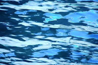 Photograph - Agua Azul by Donna Blackhall