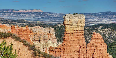 Photograph - Agua Canyon - Panorama - Bryce Canyon  by Nikolyn McDonald
