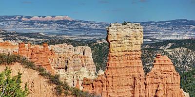 Photograph - Agua Canyon - Panorama - Bryce Canyon  by Nikolyn McDonald