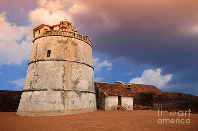 Photograph - Aguada Fort Goa by Charuhas Images
