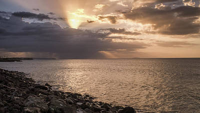 Wall Art - Photograph - Aguadilla At Sunset by Giovanni Arroyo