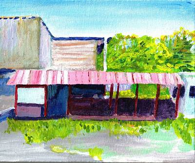 Painting - Aguadilla Pueblo, Puerto Rico by Paul Thompson