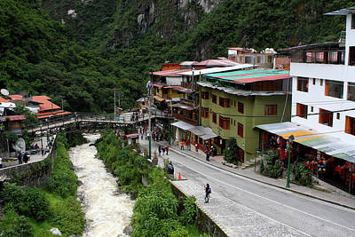Photograph - Aguas Calientes, Peru by Aidan Moran
