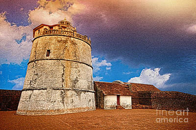 Photograph - Aguda Fort Da by Charuhas Images