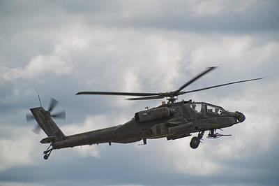 Warbird Photograph - Ah-64 Apache by Sebastian Musial