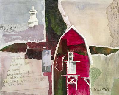 A.h. Meyers Barn Art Print by Diana Wade