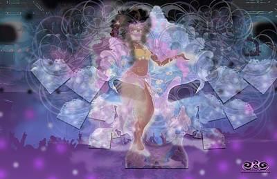 Digital Art - Ahanka Remix by Subbora Jackson