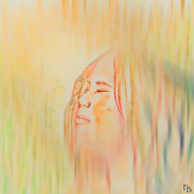 Ahead - Digitalart Original by Francesca Borgo