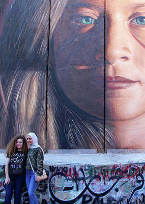 Photograph - Ahed Tamimi Live by Munir Alawi
